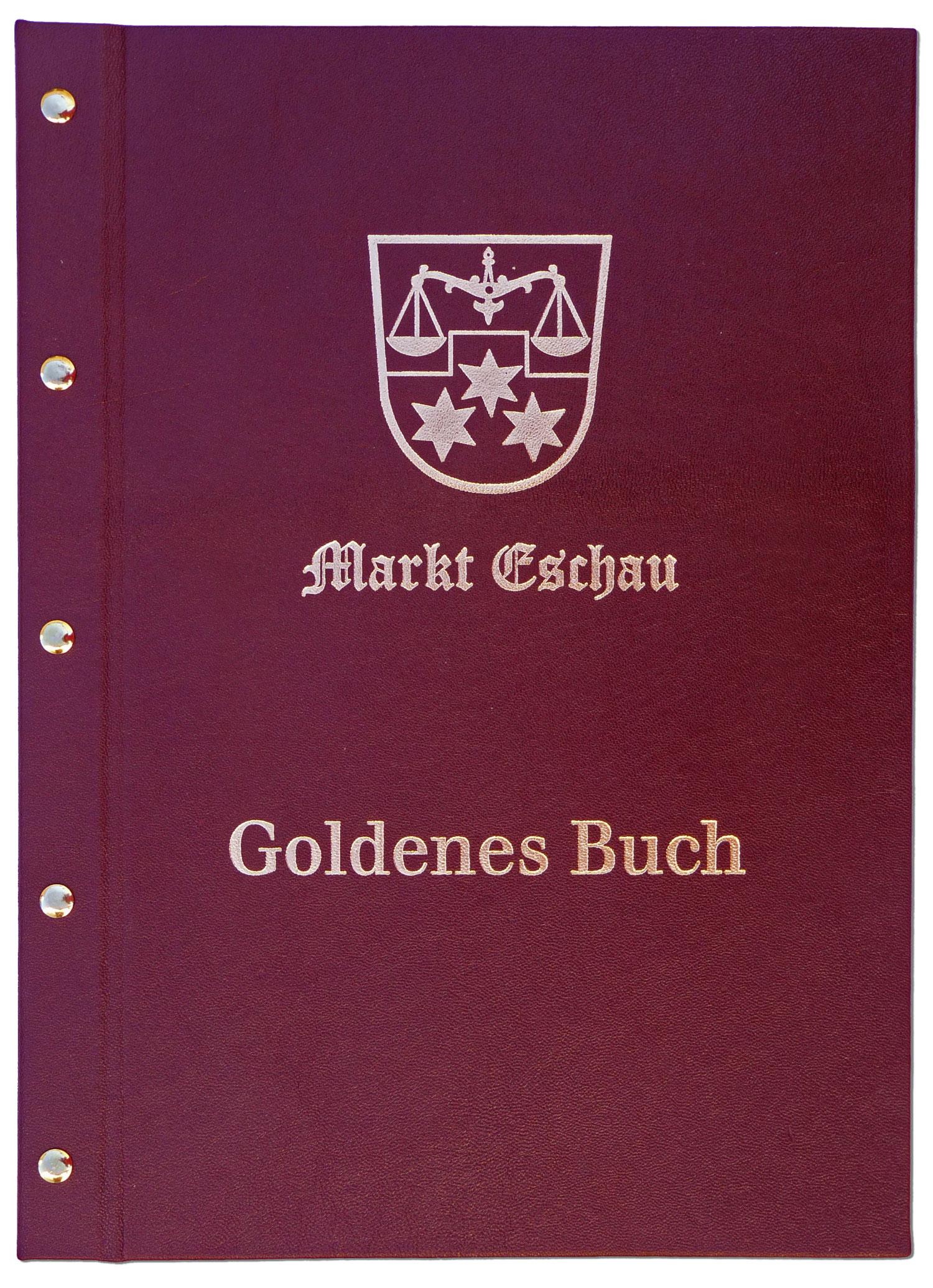Goldenes Buch, geschraubt