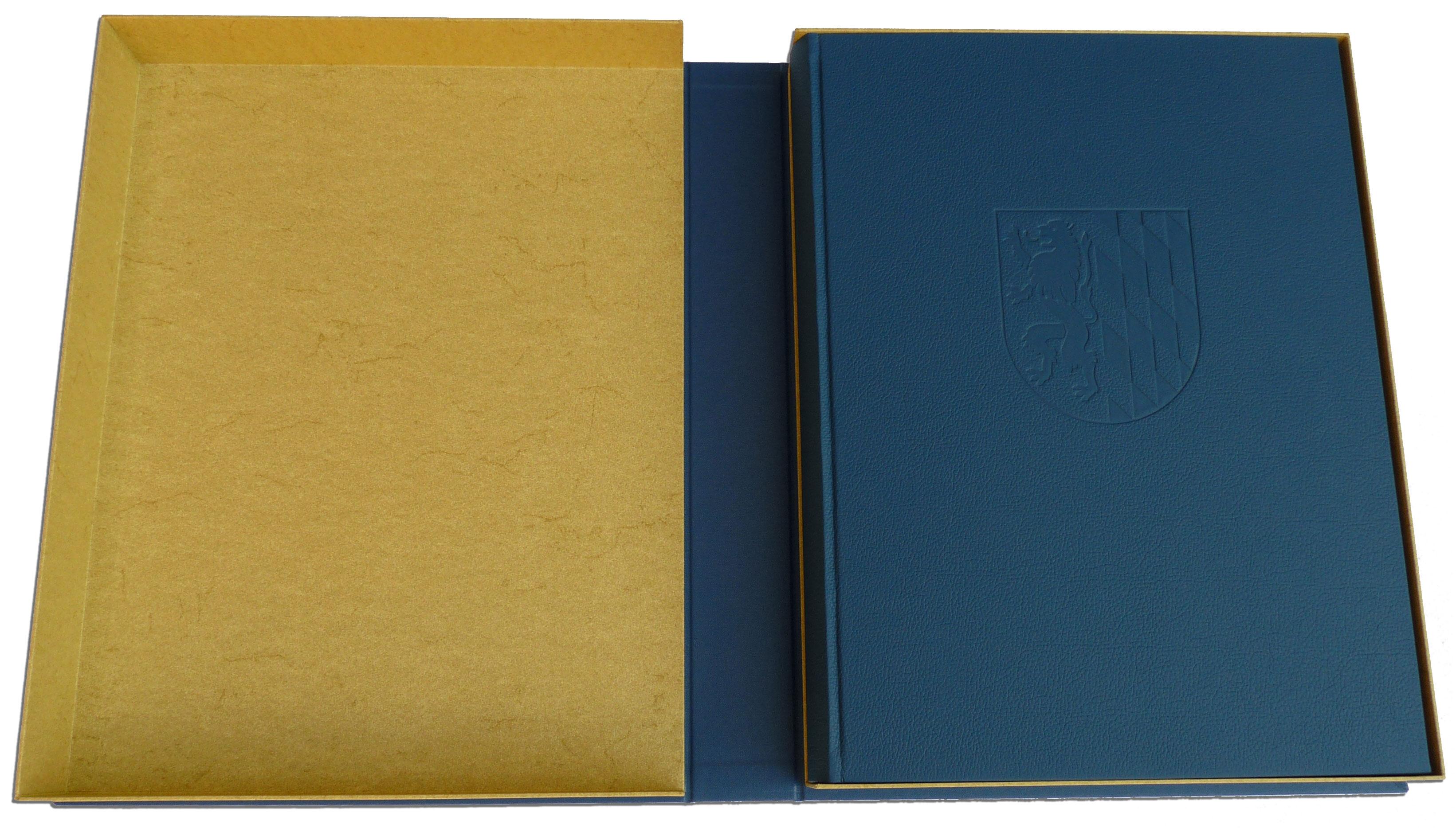 Kasette für Goldenes Buch