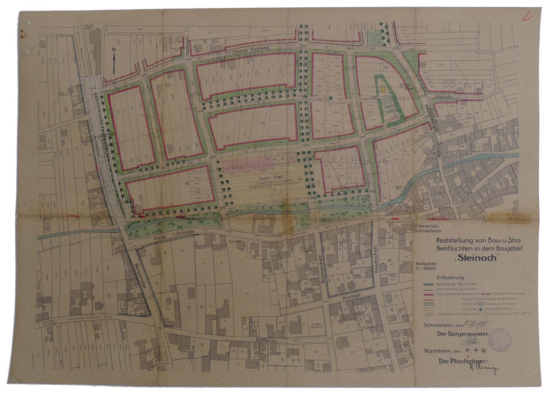 Restauration von Karten