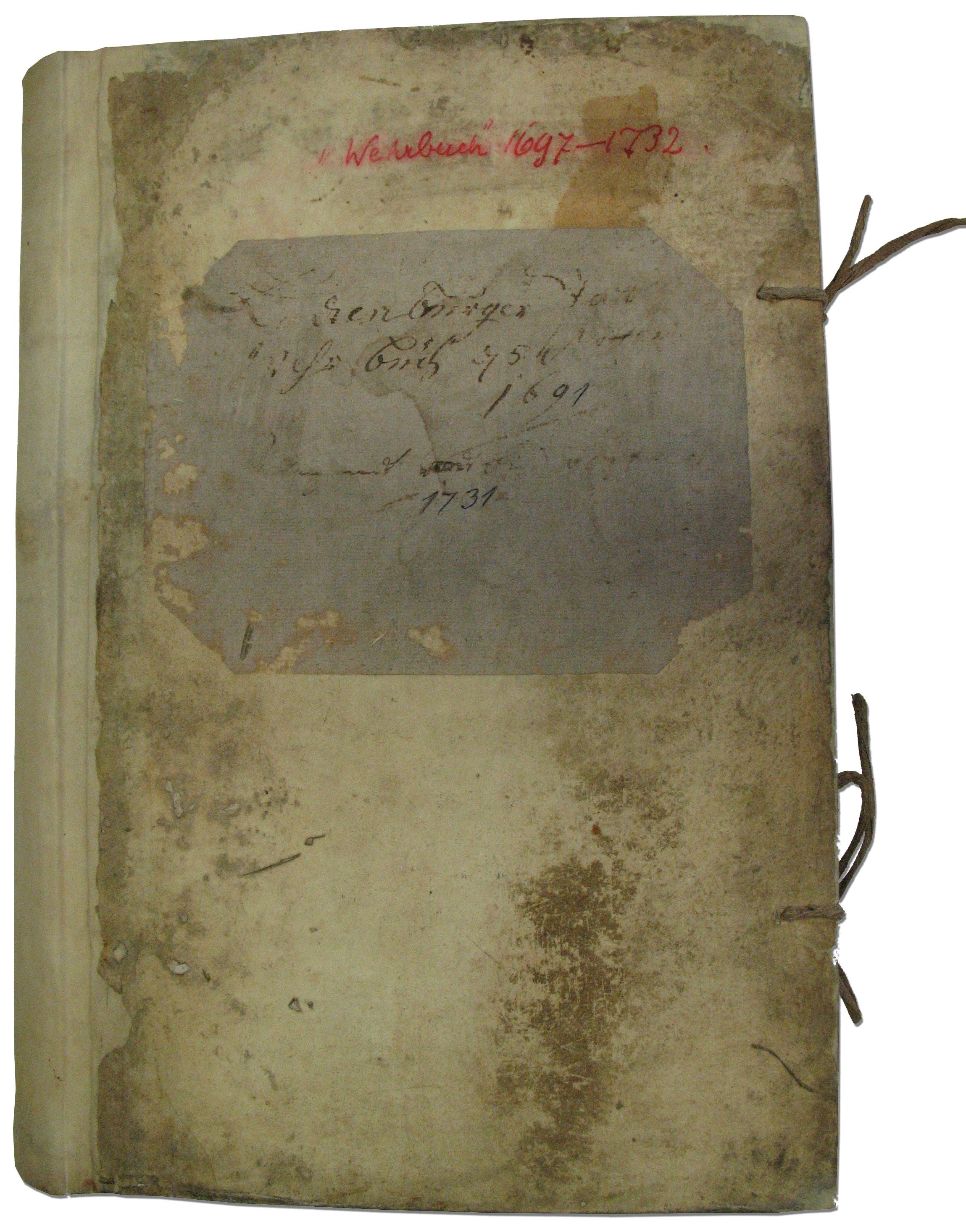 Restauration Pergamentbuch