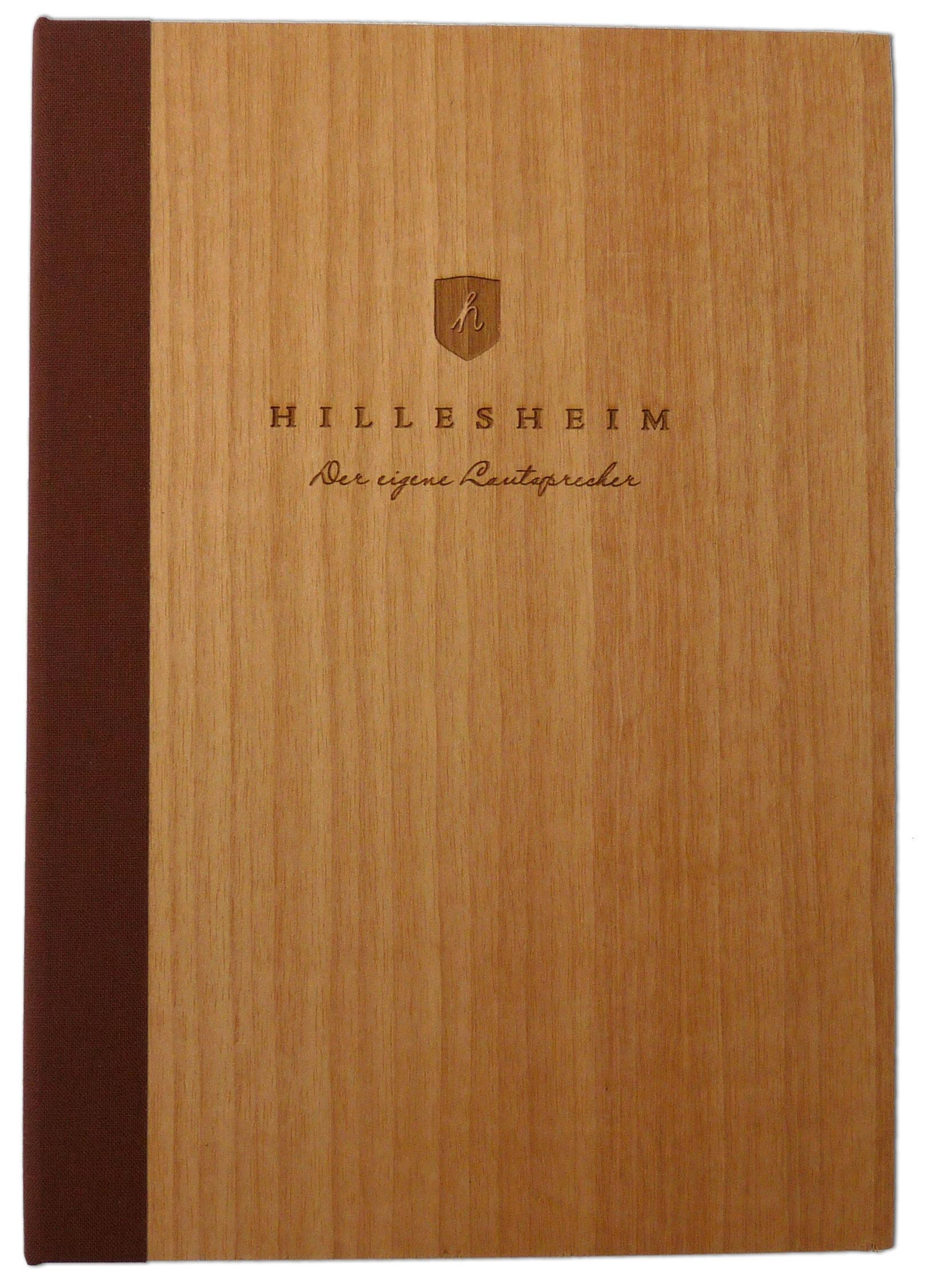 Holzdeckelbuch