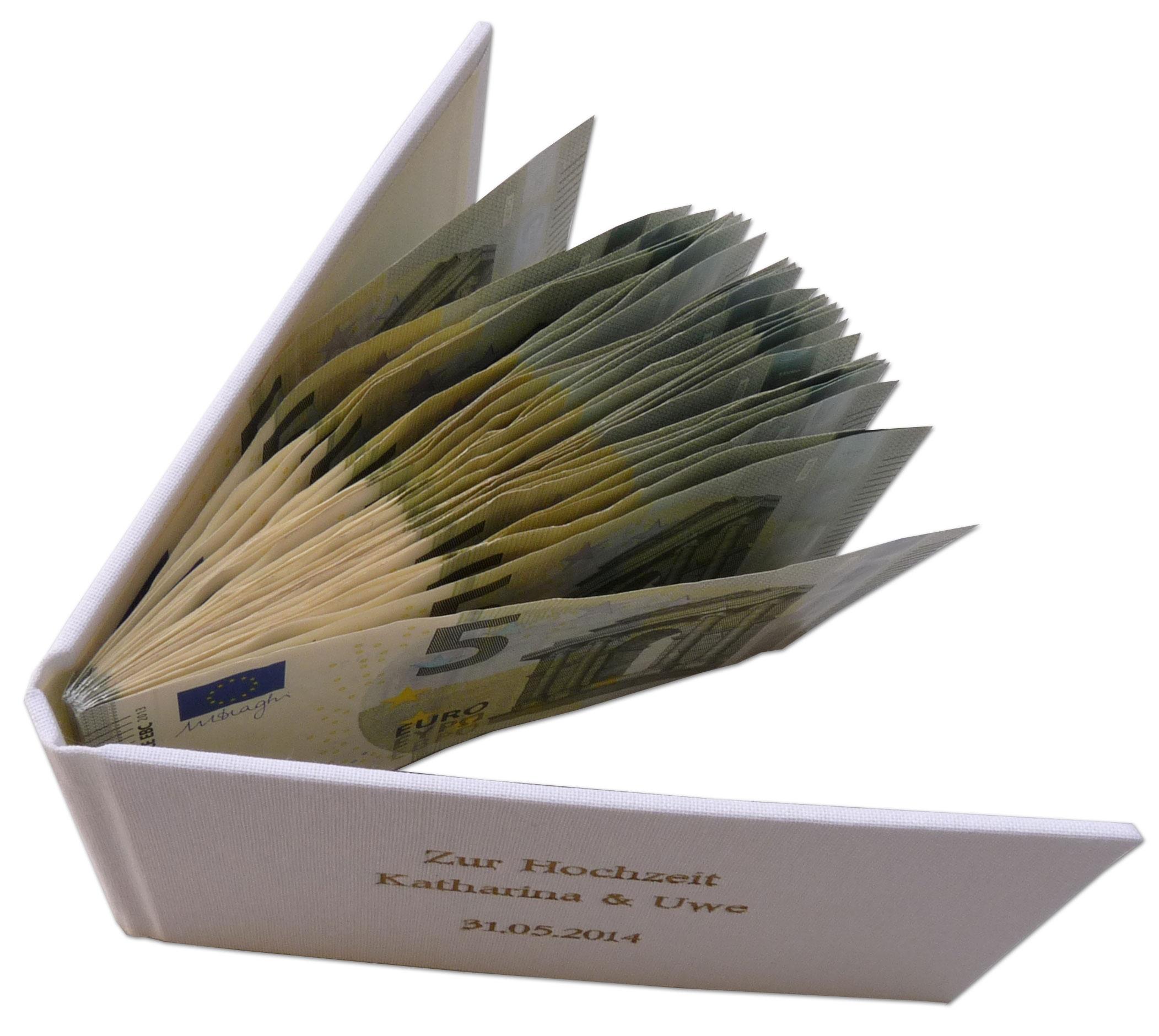 Geschenkbuch für Geld